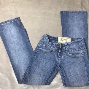 Boot leg size 3 jeans